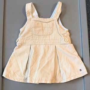 Adorable Tommy Hilfiger 3-6m overall dress